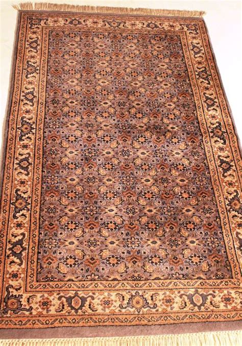 rugs made in india knotted orient rug bidjar 90 x 150 cm made in india end of the 20th century catawiki