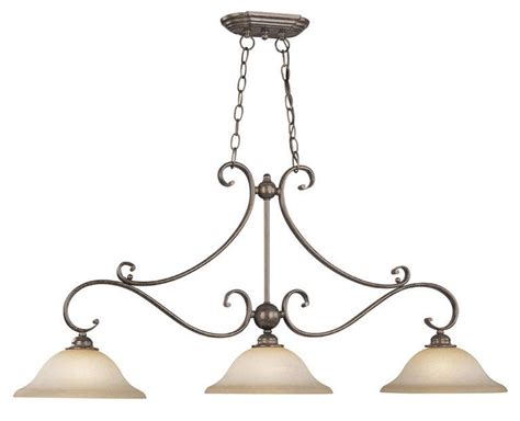Bronze Island Light Fixtures Vaxcel 3 Light Monrovia Royal Bronze Kitchen Island Pendant Fixture Pd35413rbz B Ebay