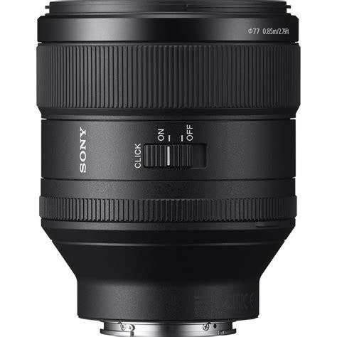Sony Lens Sel Fe 85mm F1 4 Gm sony sel85f14gm fe 85mm f 1 4 gm
