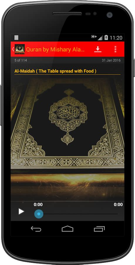 uzbek quran translation mp3 android apps on google play quran by mishary alafasy audio android apps on google play