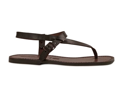 mens leather sandals made in italy handmade brown genuine leather sandals for made