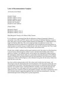 Letters Of Recommendation Templates Crna Cover Letter