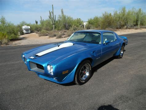 1972 Pontiac Trans Am For Sale 1972 Trans Am Extremely Low Production 1 286 Only