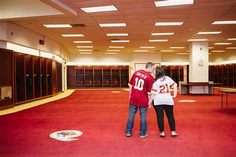 redskins locker room felicia armando redskins engagement pictures natalie franke