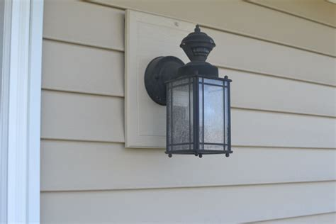 Changing Outdoor Light Fixture How To Change Out A Light Fixture Changing Out A Light Fixture Bye Bye Light Pretty Handy How