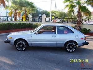 1979 honda accord lx hatchback collectors condition 3 door
