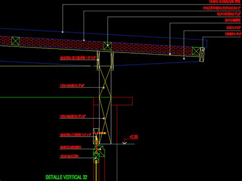 sheet metal roof wall joint  autocad cad  kb