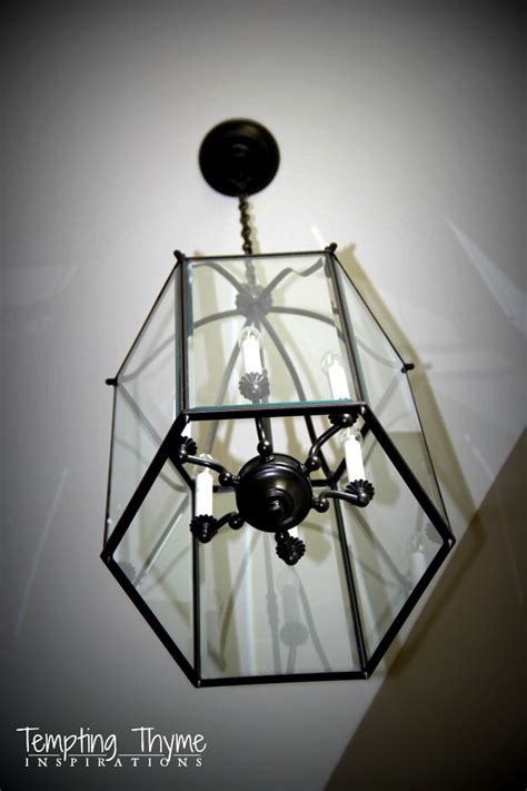 Spray Painting Light Fixtures Updating A Ceiling Fan With A Paint Tempting Thyme