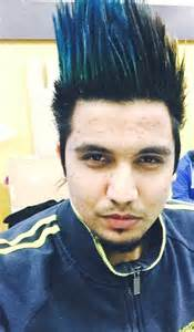 hair style of mg punjabi sinher a kay s new song changa mada time watch listen punjabi