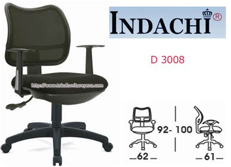 Kursi Indachi D 800 jual kursi kantor indachi d 3008