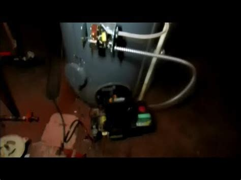 oil fired water heater not working bock oil fired 40 gallon hot water heater goes for a swim