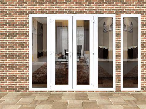 4ft doors upvc 4ft upvc doors with 3 wide side panels flying doors