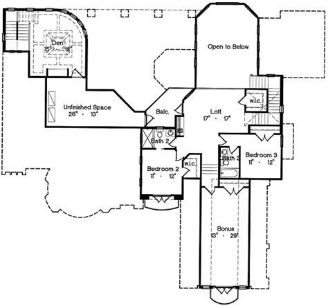 old world floor plans old world design 4264mj architectural designs house