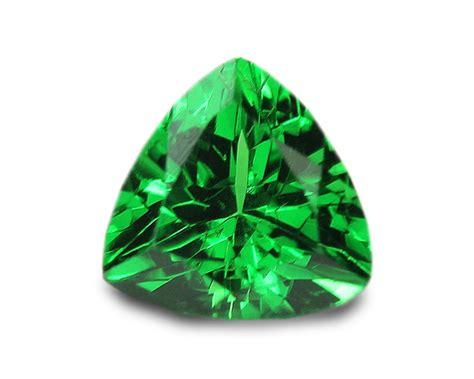 0 39 carats tsavorite gemstone trilliant ebay