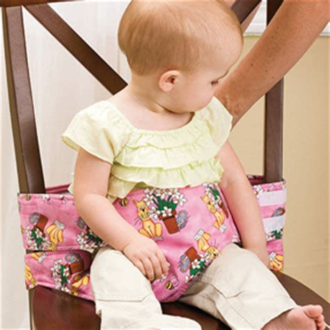 Cloth High Chair Pattern by Sew Baby Travel High Chair Pattern