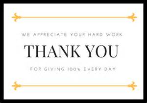 employee appreciation thank you cards free printables