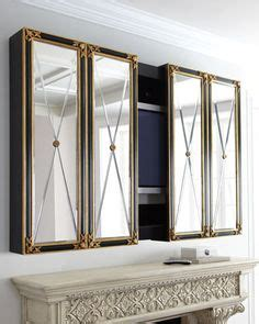 mirror cabinet tv cover 1000 images about decor hiding tvs with style on