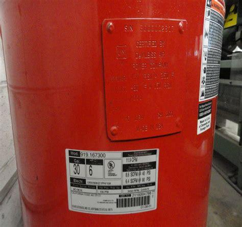 craftsman air compressor 50 gal – Lot #43: Craftsman 30 Gallon / 6HP Gas / Electric Air Compressor   WireBids