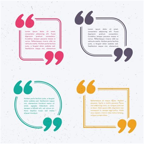 text template text templates with colored frames vector free
