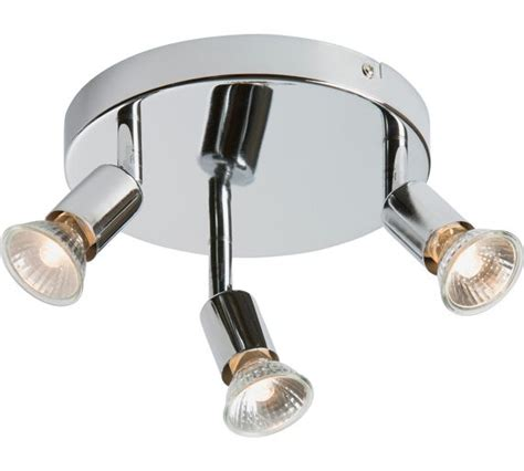 Argos Lighting Ceiling Buy Home Cromer 3 Spotlight Ceiling Plate Silver At Argos Co Uk Your Shop For Ceiling