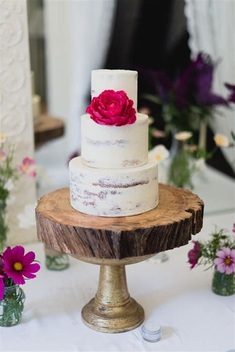 Our Favourite Natural Wedding Cake Styles Cove Cake