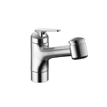 kwc kitchen faucet kwc 10 061 033 127 domo one handle pull out spray kitchen