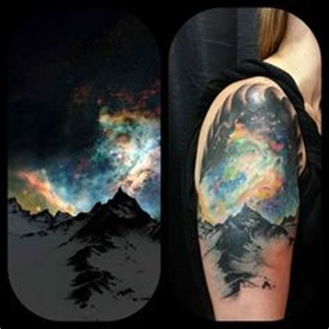 Northern Lights Salem Oregon by Skin On Eagle Tattoos Butterfly Tattoos And Feather Tattoos