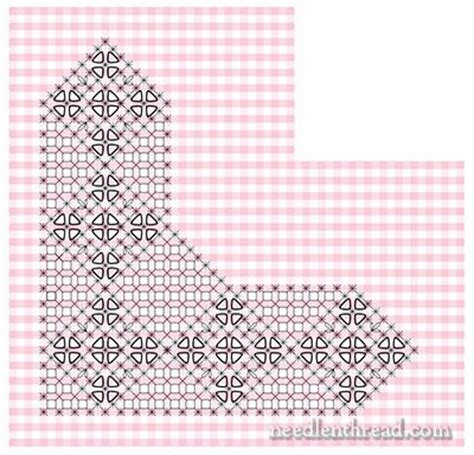 printable scratch instructions gingham lace chicken scratch embroidery pattern from the