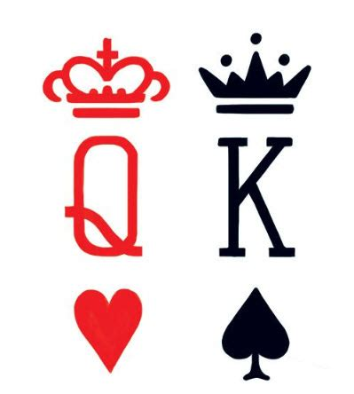 king and queen card tattoos king cards tattooforaweek temporary tattoos