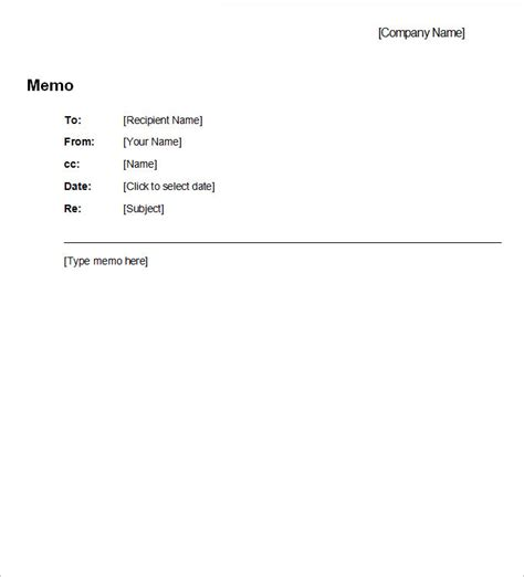 business memo template word business memo template 8 free word pdf documents