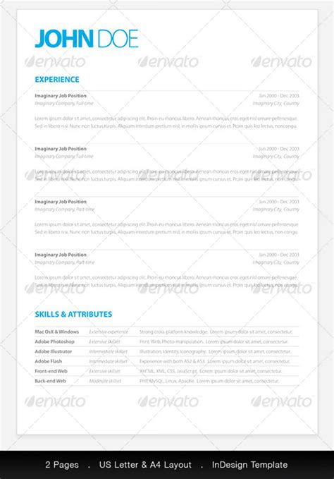 clean resume template clean resume template pkg resume templates on creative