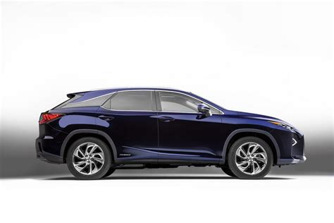 lexus rx 2016 all new 2016 lexus rx breaks cover in new york w video