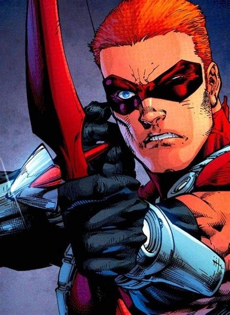 arsenal marvel arsenal red arrow roy harper by ed benes yes i am a