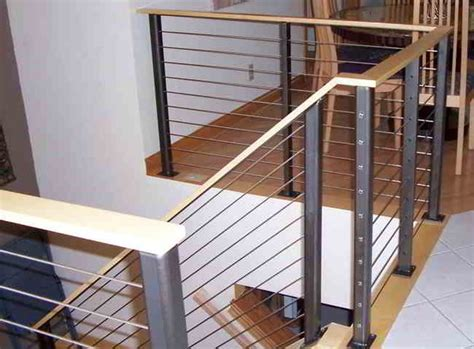 Interior Cable Railing Kit by Stair Cable Railing Modern Staircase Other By
