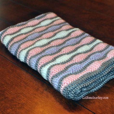 wave afghan in green and purple crochet throw blanket baby wave afghan pink purple white grey gray crochet