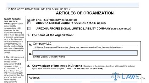 Articles Of Organization Domestic Llc Ll0004 Youtube Articles Of Organization Arizona Llc Template