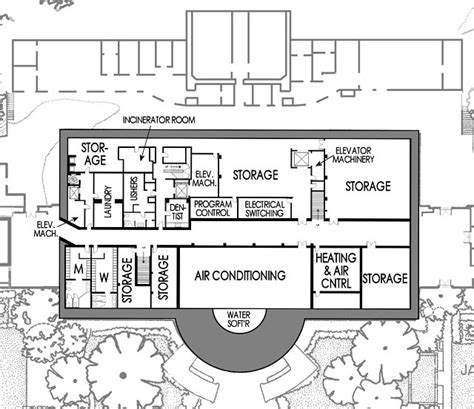 White House Basement Floor Plan | sub basements white house museum