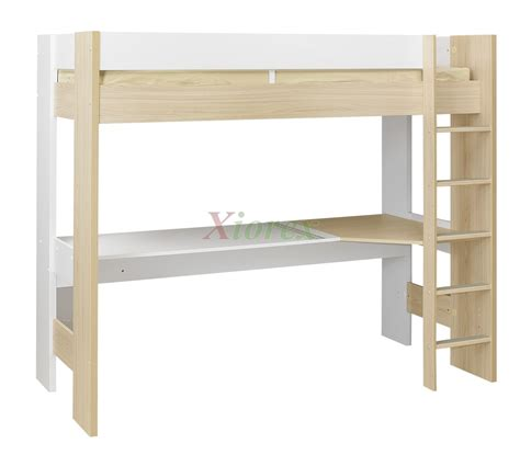 single bunk bed with desk single bed desk beautiful modern home