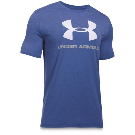 T Shirt Logo Armour armour gray logo tshirt sportsman s guide
