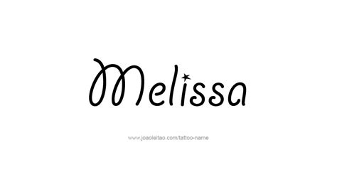 melissa name tattoo pictures to pin on pinterest pinsdaddy