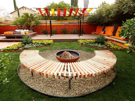 Cheap Backyard Fire Pit Ideas Home Fireplaces Firepits Diy Backyard Pit Ideas