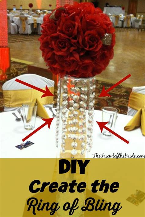 Best 20  Bling Centerpiece ideas on Pinterest   Bling