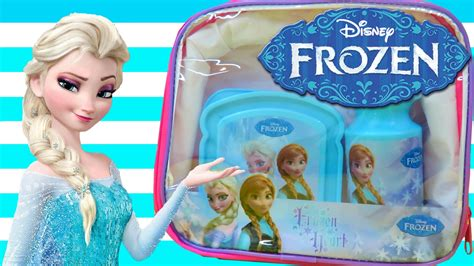 Lunch Box Set Frozen disney frozen lunch box set review