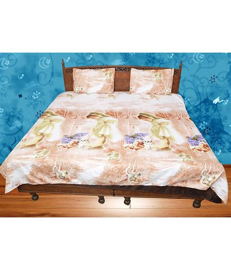 pillow covers and bed sheets macy multicolour double bed sheet with 2 pillow cover