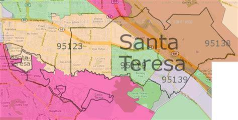san jose nm map santa teresa high school map images