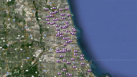 city of chicago light locations i team mayor rahm emanuel s motorcade speeding