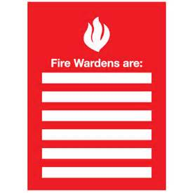 emergency responders insert frames fire wardens from