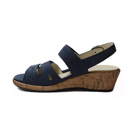 navy sandals waldlaufer 341013191206 navy womens sandal waldlaufer