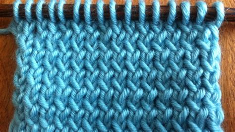how to tbl in knitting how to knit through the back loop new stitch a day