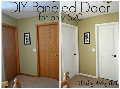 slab cabinet doors diy do this to your boring doors to them look so much
